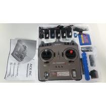 Radio Controle Ace Rc Sky Commander P51 Mustang 4 Canais Fm