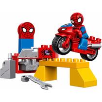 Lego Duplo 10607: El Taller De La Moto Araña De Spider-man