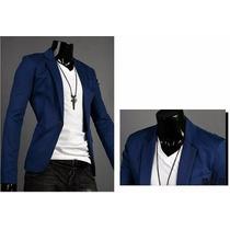 Blazer Masculino Slim Fit 7 Cores - Importado Frete: R$ 45