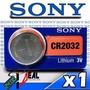 2x Pilas Sony Cr2032 Para Jugete,computador,cpu ,garage