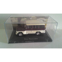 Miniatura Carro Inesquecíveis Rural-willys 1968 1/43