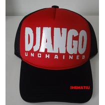 Boné Trucker Cap Tela Django Unchained Livre Tarantino
