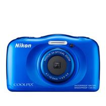 Câmera Nikon Coolpix S33 A Prova D