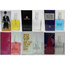 Perfume Invictus 212 Swiss Army Ch Lacoste One Million Blue