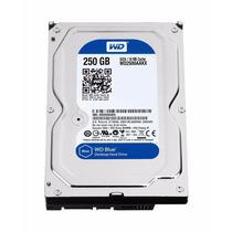 Disco Duro Wd 250 Gb Azul Sata 6 Gb / S, 7200 Rpm,
