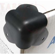 Esquinero Metalico Negro X8 Unidades Para Bafles