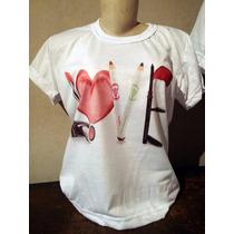 Camiseta Love Mary Kay Tradicional Ou Babylook