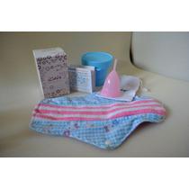 2 Juegos D Copa Menstrual Icare T2 + Esterilizador +toalla