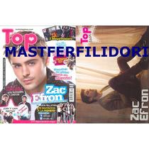Zac Efron Los Juegos Del Hambre Revista Top Teen Mayo 2012