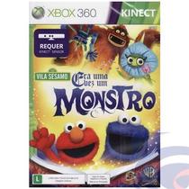 Jogo Vila Sésamo Era Uma Vez Um Monstro Xbox 360