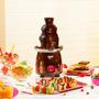 Fonte Cascata Chocolate 3 Andares Arno 220v - Pronta Entrega