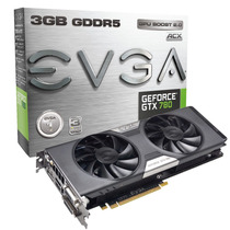 Placa De Vídeo Evga Geforce Gtx780 3gb Ddr5 03g-p4-2784-kr