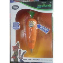 Pluma Zanahoria Grabadora De La Pelicula Zootopia