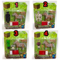 Survival Pack Minecraft Boneco De Brinquedo