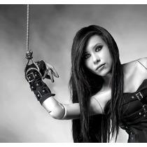 Acc007 Guantes Con Hebillas Gotico Dark Metaleros