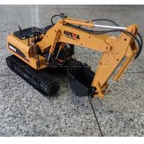 Truck Pá Escavadeira De Controle Remoto Rc 15-canais Funções