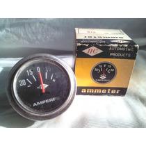 Relogio Amperimetro Ammeter Universal 30 Amperes