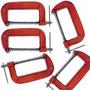 Set 5 Prensas Tipo G Ó C 5 Pulgadas Serigrafía Carpintería