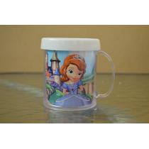 Lote 10 Tazas Princesa Sofía Plastica Personalizada
