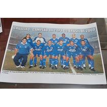 Poster Do Cruzeiro - Campeão Da Copa Do Brasil 2000