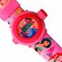 Relógio Infantil Pulso Disney Princesas Original C/ Projetor