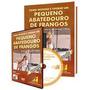 Livro Dvd Montando Pequeno Abatedouro De Frango