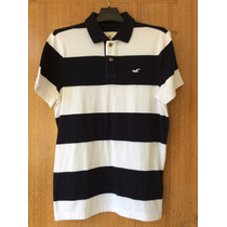 Camisa Polo Abercrombie & Fitch Hollister Original Masculina