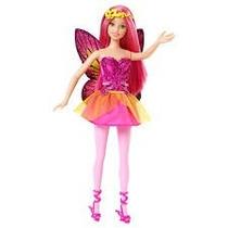 Boneca Barbie - Mix E Match Fadas - Rosa - Mattel