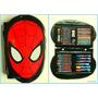 Set De Arte Cars Iron Man O Hulk Avengers Lapices Y Crayones