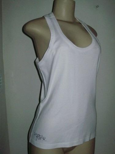 Camiseta Regata Feminina 100%algodão Fio 30 1c97e59cb1d
