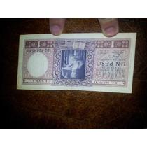 Billete - 1 Peso Leyes 12.962 Y 13.571 - Argentina Año 1947