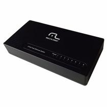 10 Unid. Switch 8 Portas C/ Vlan Fixa/poe Passivo Multilaser