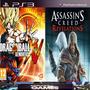 Dragon Ball Z Xenoverse /assassin´s Creed Revelation Ps3 Psn
