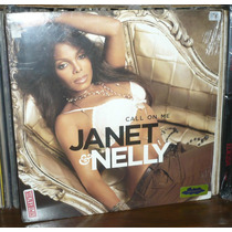 Janet Jackson Lp Call On Me Janet & Nelly