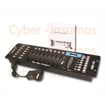 Consola Dmx 512 Universal 192 Canales Display Lcd