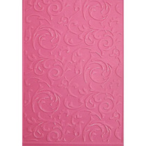 Placa Para Textura 10,5x15cm Sizzix Boutique Arabesco Ii