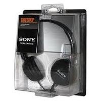Sony Audífono Negro Del Modelo Mdr-zx100 En Empaque Original