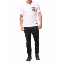 Camiseta Polo Ecko Branca Tam G - Regata Camisa Top