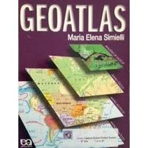 Livro Geoatlas Maria Elena Simielli Editora Atica