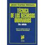 Técnica De Los Recursos Ordinarios- Hitters, J.-ed.platense
