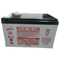 Bateria Recargable Genesis, Mod. Np12-12t, 12v/12ah, 1 Año