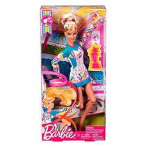 Boneca Barbie Quero Ser Ginasta W3766 Oficial Mattel