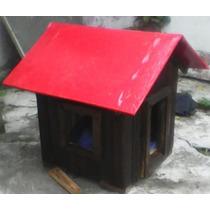 Casa De Madera Para Perro Chihuahueño (desarmable)