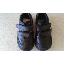 Zapatos Kikcers Colegial Negros Niño