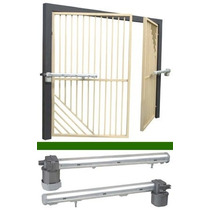 Kit De Automatización Para Porton Abatible Pivus Plus 1/4