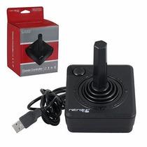 Control Joystick Clasico Estilo Atari Usb Para Pc Y Mac Nuev
