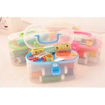 Maleta Kit Costura Organizador De Plástico Portátil !!!