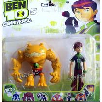Muñeco Ben10 Con Alien Figura Juguete Ben 10 Niño Coleccion