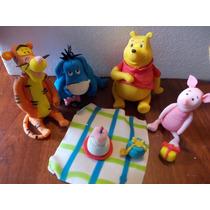 Winnie Pooh Y Sus Amigos En Porcelana Fria Para Tu Torta