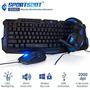 Sportsbot Ss301 Led Gaming Sobre-oído Auricular Envío Gratis